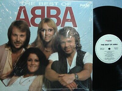ABBA GREATEST HITS LP / THE BEST OF ABBA / 1988 PRESSING / NM IN SHRINK