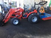 TYM T313 29hp continuously-variable Hydrostatic 4WD compact tractor Carrara Gold Coast City Preview