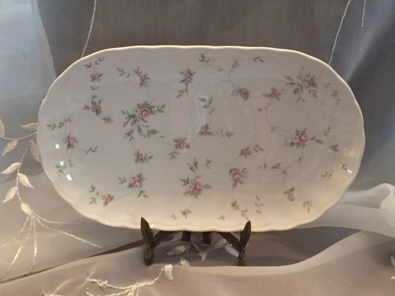 MIKASA Butter Tray in French Chintz Discontinued pattern CAJ06/763 NIBWT