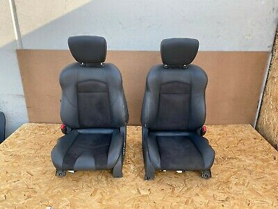 NISSAN 370Z COUPE 2009-2019 OEM LEFT AND RIGHT SEATS (SUEDE & LEATHER/ SET). 76K