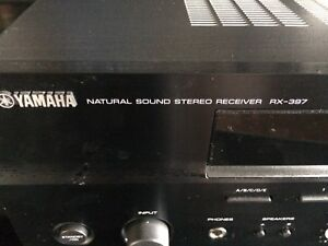 Yamaha RX-397 AM/FM Stereo Receiver