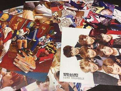 Kpop High Quality Bts Bangtan Boys 10 Photo Posters   Us Seller