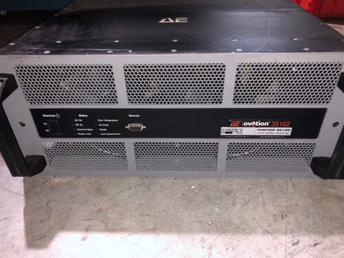 Ae Advanced Energy Ovation 35162 Rf Generator P/n 0190-16109 -001