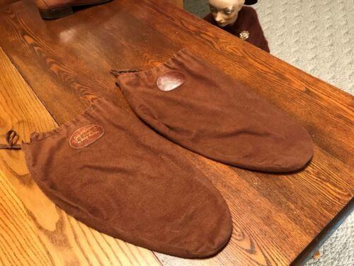 RARE Vintage Antique Shoe Covers/Bags SAKS FIFTH AVENUE by JOHN McHALE