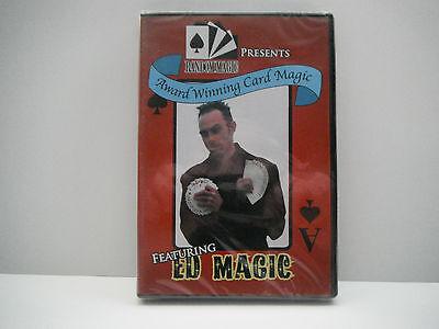 "BRAND NEW ED MAGIC'S ""AWARD WINNING CARD MAGIC"" DVD"