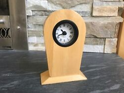 Umbra wooden Maple Table Desk Clock,made in Canada