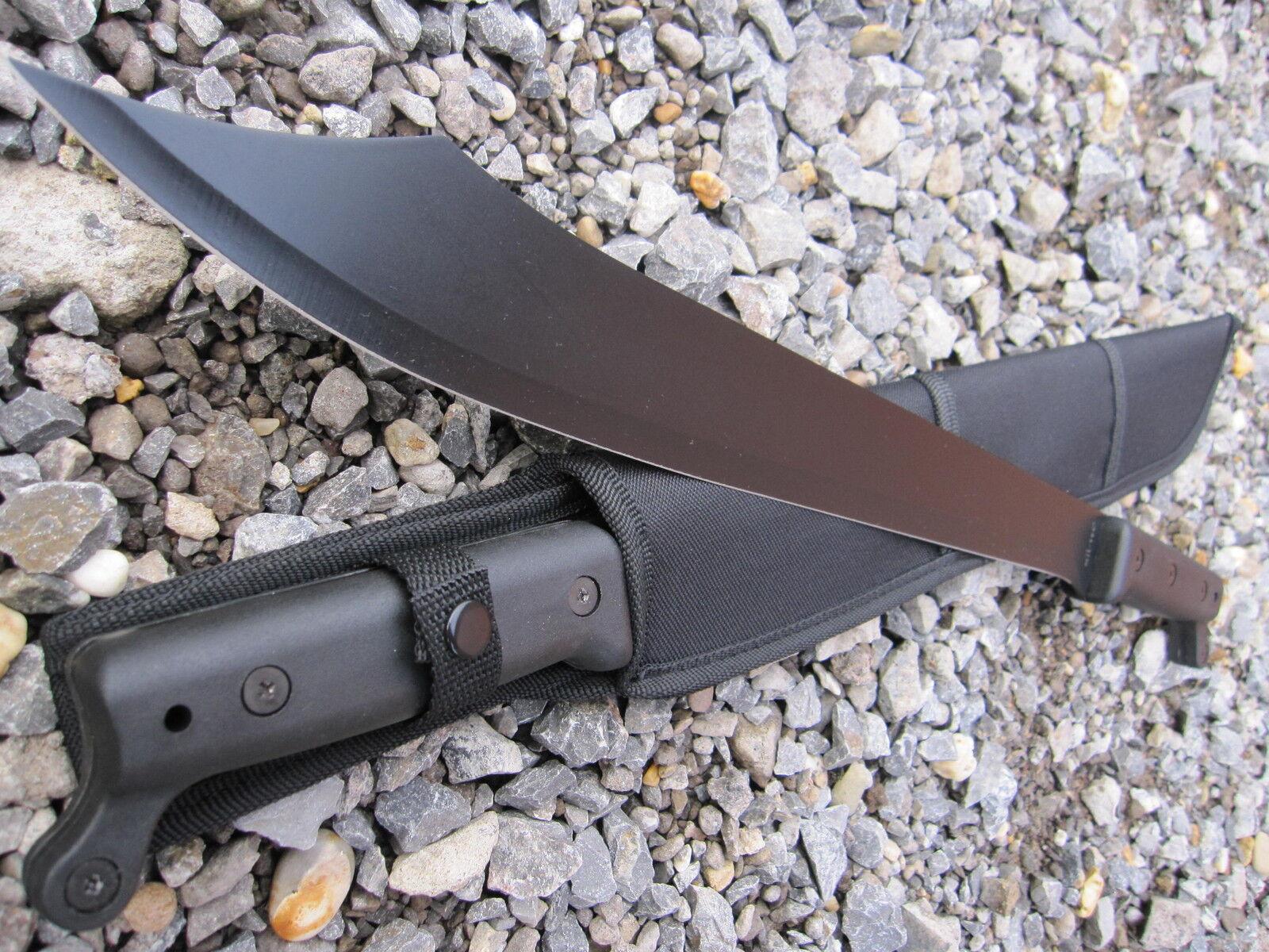 Schwarze MACHETE Beil Survival AXT 40,5cm KLINGE Messer Camping Buschmesser
