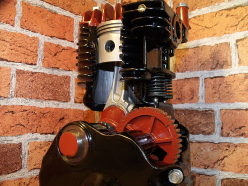 Cutaway Engine, Sectioned 4 stroke, Stationary Engine, Display Engine,