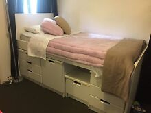Single storage bed ex cond Hornsby Hornsby Area Preview