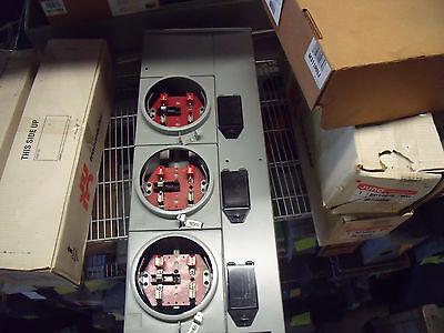 1851 Siemens Wmm5urnj Meter Module 5 Position Never Used In Orig Box