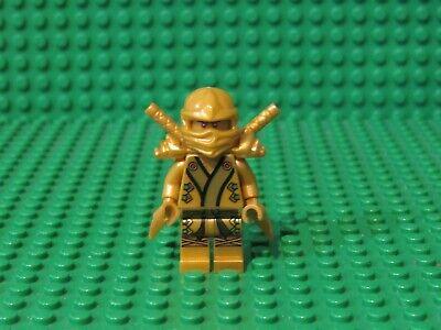 LEGO NINJAGO LLOYD ZX Gold KIMONO MINIFIGURE 70503 minifig Golden ninja swords G