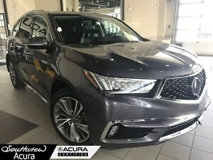 2017 Acura MDX Elite Package, V6, Leather, DVD Player