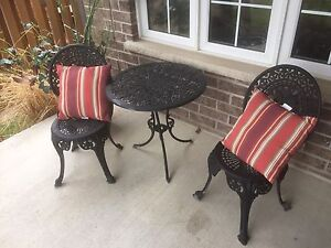 Wrought iron set
