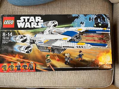 Rare Lego Star Wars 75155 Brand  NEW Rebel U-Wing Fighter BNISB