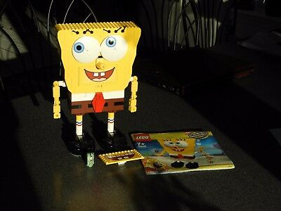 REDUCED LEGO Spongebob Squarepants Build-A-Bob Set 3826 - Complete!