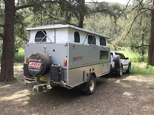 Late 2009 AOR Quantum off road van Yellow Rock Blue Mountains Preview