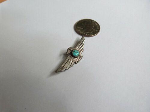Old Fred Harvey Era Thunderbird Pin Brooch UITA 21 Sterling Native American