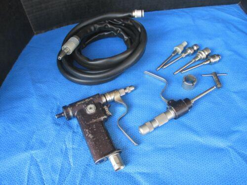3M K200 Mini Driver Air Orthopedic w Hose  W/ CHUCK ACCESSORIES NICE WORKING