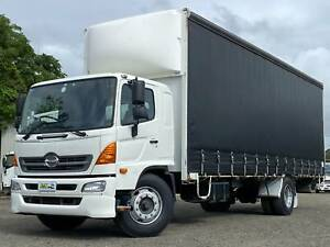 Hino FG 500  Series 1628 | 14 Pallet Curtainsider | LOW KMS Windsor Hawkesbury Area Preview