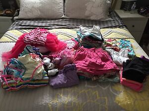 Girls huge lot of spring/summer clothes size 5-6x