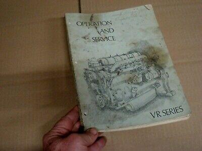 Waukesha Vrd232 Vrd 283 310 310t Vrg 232 265 283 Engine Service Manual 310 Vrd