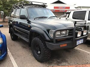TOYOTA LANDCRUISER 80 GXL MANUAL Broome Broome City Preview