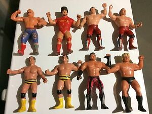 WWF/WWE LJN Titan Wrestling Superstars Tag Teams
