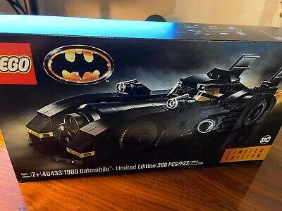 LEGO 40433 Batmobile 1989 Limited Edition NEW UNOPENED