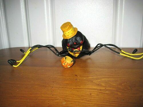 ESC Lori Mitchell NEW Halloween Willie Web Weaver Spider Figure