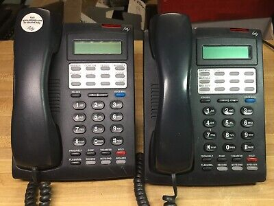 Lot Of Two 24 Key Dfp 2-line 32-character Display Digital Feature Phone Office
