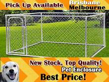 Pet Dog Enclosure Run Kennel Chain Link Mesh Fence Crate Playpen Richlands Brisbane South West Preview