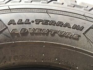 LT 245 70R17 all season tires with winter rating -New