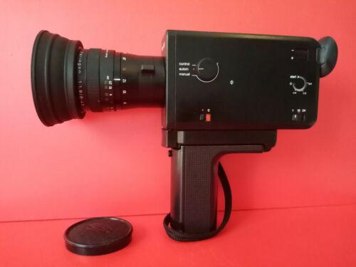 Vintage Design // Braun Nizo S 125. Super 8 Movie Camera & Original case.