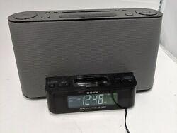Sony ICF-CS10iP Dream Machine 2 Alarm Clock / AM,FM Radio iPod-in Auto Time Set