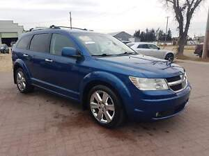 * 2010 DODGE JOURNEY R/T AWD 7 PASS * 6 MONTH WARRANTY INCLUDED*