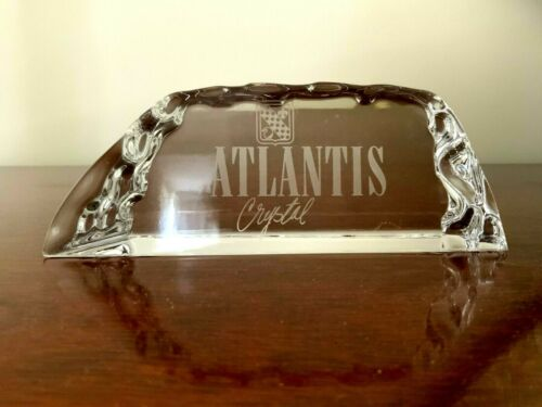 Atlantis Crystal Advertising Display Sign