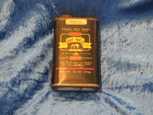 Vintage Elephant Supreme Black Powder Can