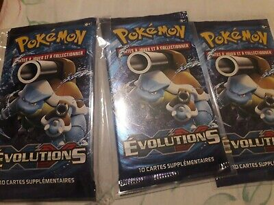 Booster XY Evolutions NEUF SCELLE Illustration Tortank