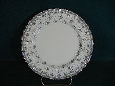 Spode Fleur de Lis Lys Gray Bone China Salad Plate(s)