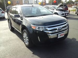 2014 FORD EDGE LTD AWD- PANORAMIC SUNROOF, NAVIGATION SYSTEM, RE