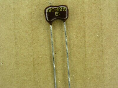 NOS! NEW Lot of 10 pc KSO KCO 1000V 2200pF 2/% tol silver mica capacitors