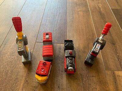FISHER PRICE GEOTRAX REMOTE CONTROL Lot of 2 Trains Mining/Pacific Cheif GUC