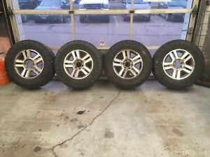 Ford F-150 wheels and tires. 275/70R18