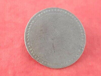 Stunning 1700 hundreds copper/silver? Dandy button Please read description L124e