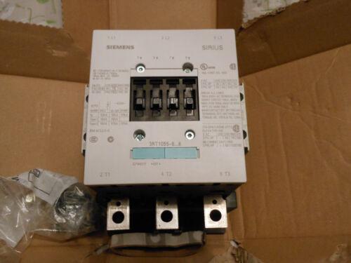 NEW Siemens 3RT1055-6AP36 3 Pole Contactor 220-240V