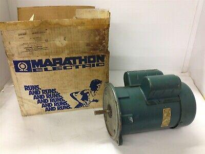 Marathon Electric D110 12 Hp Ac Motor 115230 Volts 3450 Rpm 2p 48 Frame