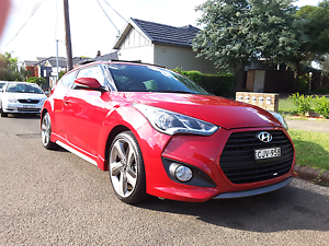 Cheap 2012 Hyundai Veloster SR TURBO in manual in immac condition Bardwell Valley Rockdale Area Preview
