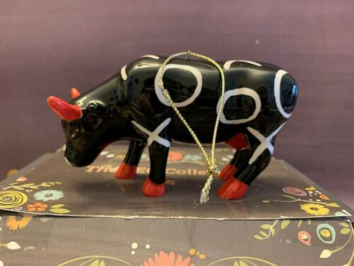 Cow Parade Porcelain Cow Figurine Ornament