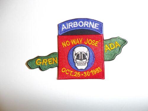 b6615 US Army 82nd Airborne Grenada No Way Jose Oct 25-30 1983 IR18A