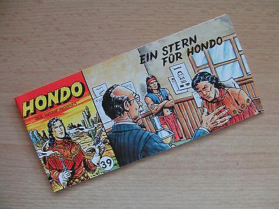 Piccolo Comics, Hondo, Der weisse Indianer, Nr. 39 ,Comic Archiv, Sammlerauflage